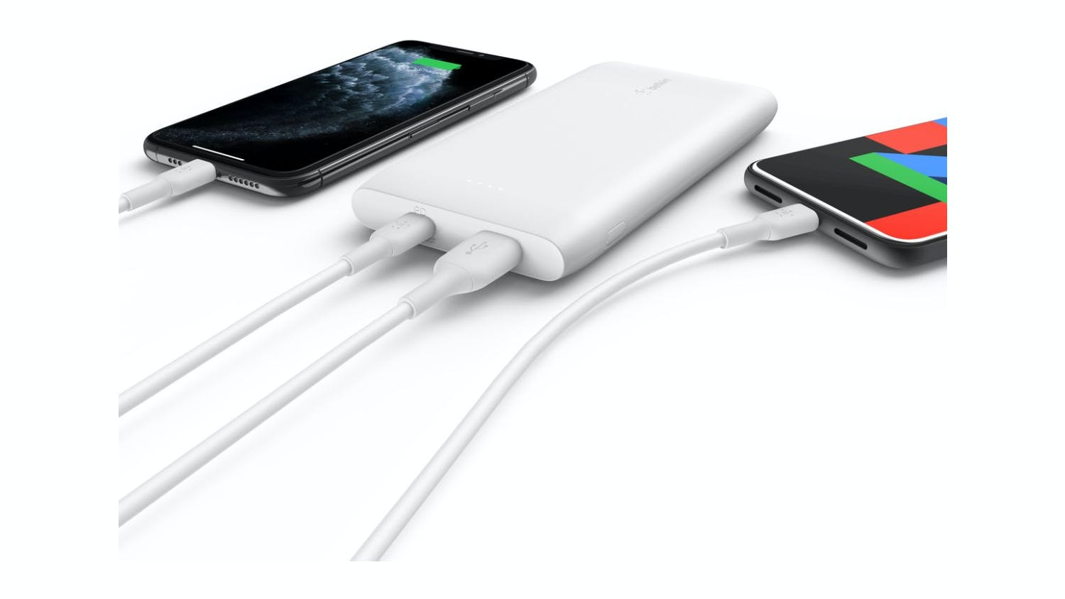 Belkin Boost Up Charge USB-C PD 10,000mAh Power Bank + USB-C Cable - White