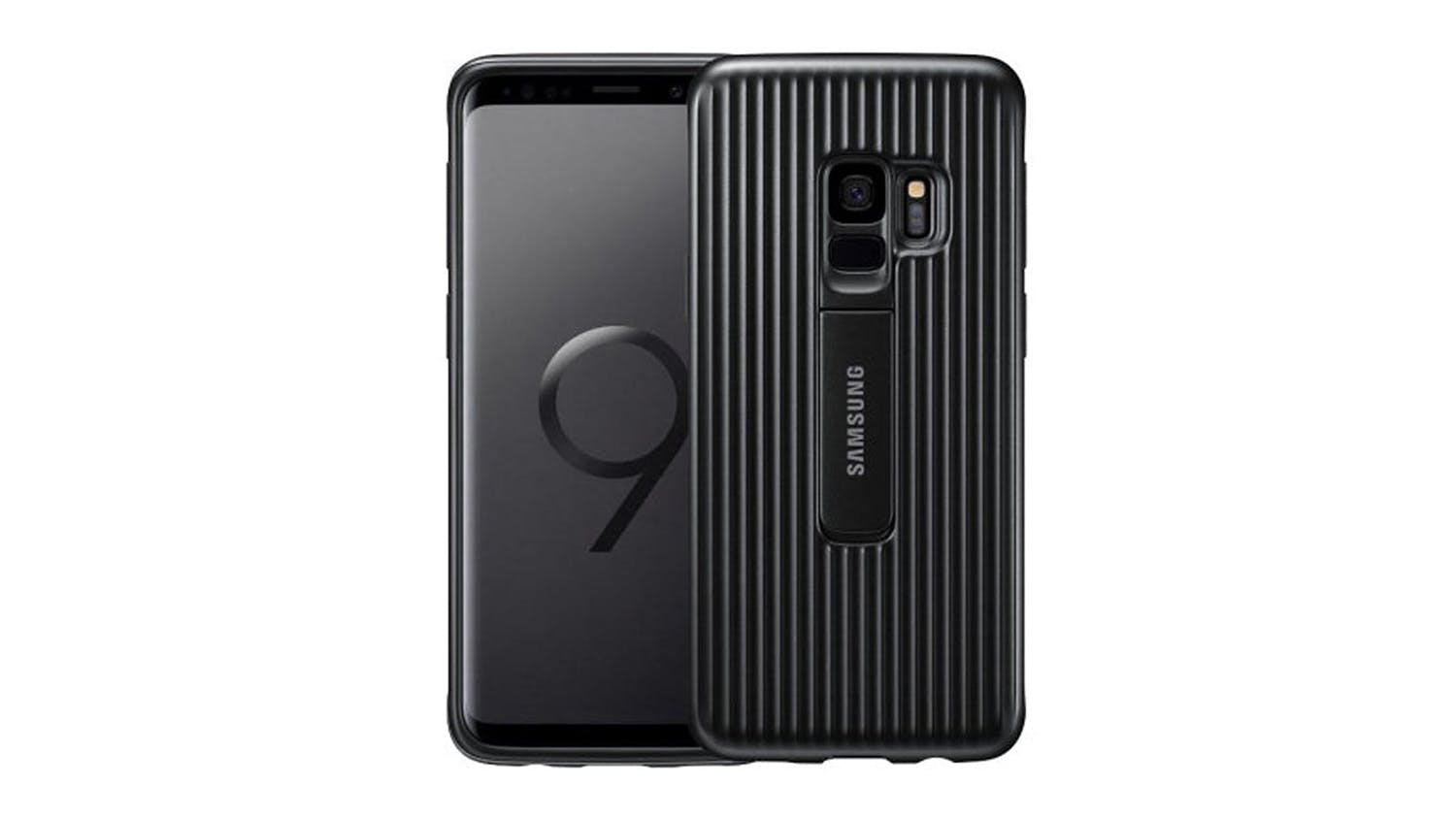 Samsung Galaxy S9 Protective Standing - Black
