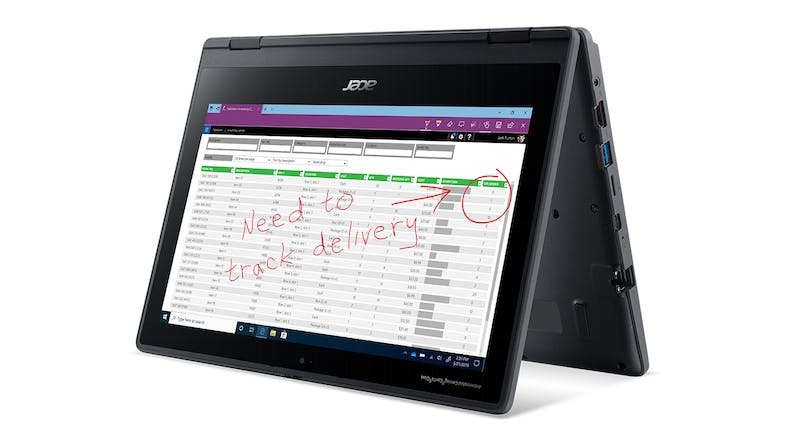"Acer TravelMate Spin B3 11.6"" Touchscreen Laptop"