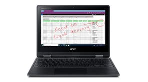 "Acer TravelMate Spin B3 11.6"" Touchscreen Laptop - Intel Pentium 4GB-RAM 128GB-SSD"