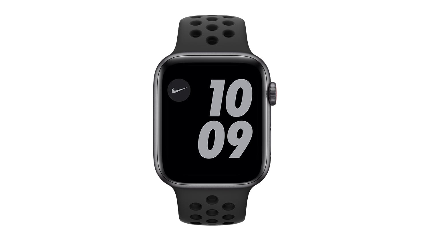 Apple Watch Nike SE (GPS+Cellular) 44mm Space Grey Aluminium Case with Anthracite/Black Nike Sport Band