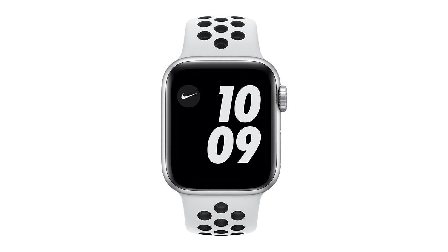 Apple Watch Nike SE (GPS) 40mm Silver Aluminium Case with Pure Platinum/Black Nike Sport Band