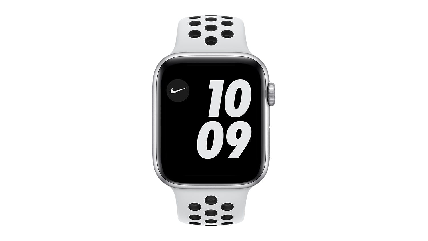 Apple Watch Nike SE (GPS) 44mm Silver Aluminium Case with Pure Platinum/Black Nike Sport Band