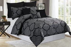 Colby 8 Piece Comforter Set by Marlborough Textiles