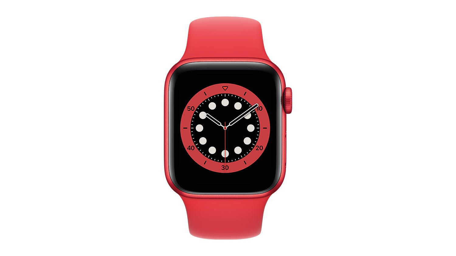 Apple Watch Series 6 (GPS) 40mm PRODUCT(RED) Aluminium Case with Red Sport Band