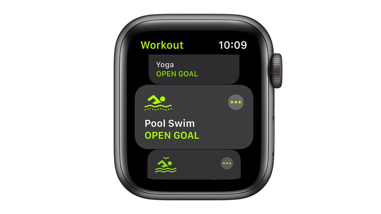 Apple Watch SE (GPS) 40mm Space Grey Aluminium Case with Black Sport Band