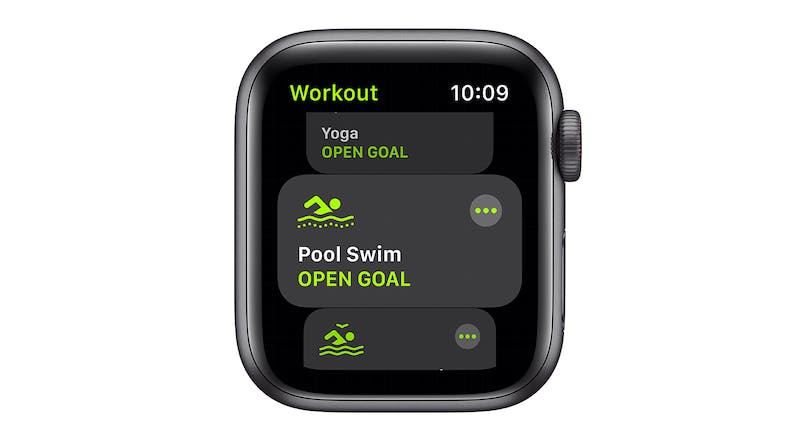 Apple Watch SE (GPS) 44mm Space Grey Aluminium Case with Black Sport Band