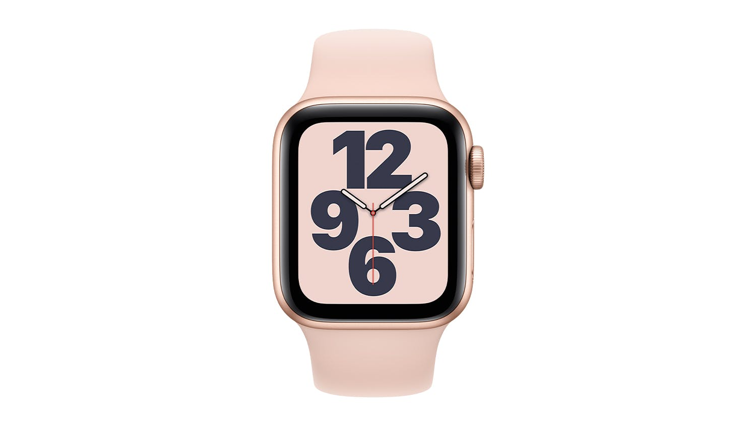 Apple Watch SE (GPS) 40mm Gold Aluminium Case with Pink Sand Sport Band