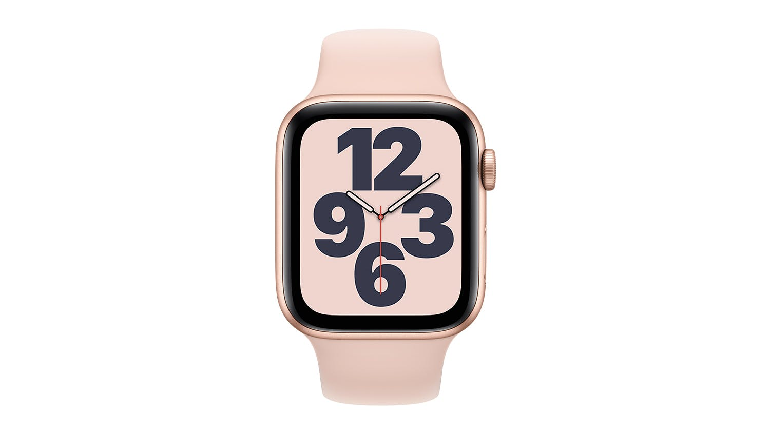 Apple Watch SE (GPS) 44mm Gold Aluminium Case with Pink Sand Sport Band