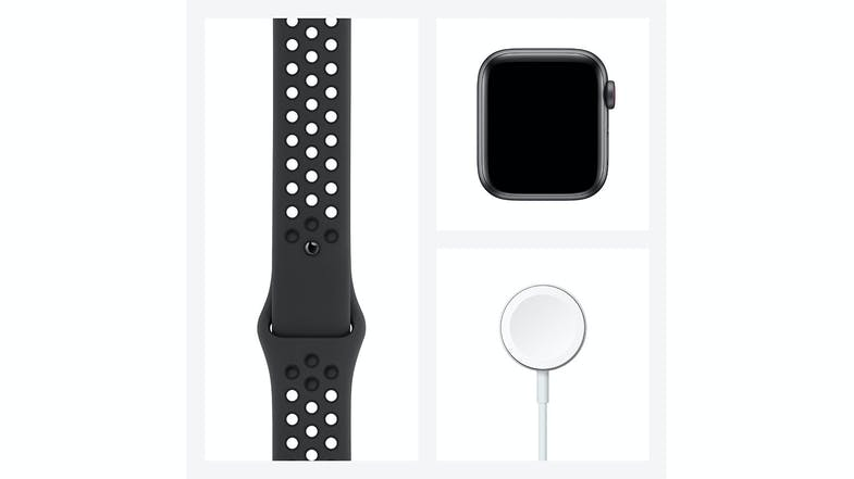 Apple Watch Nike SE (GPS) 44mm Space Grey Aluminium Case with Anthracite/Black Nike Sport Band