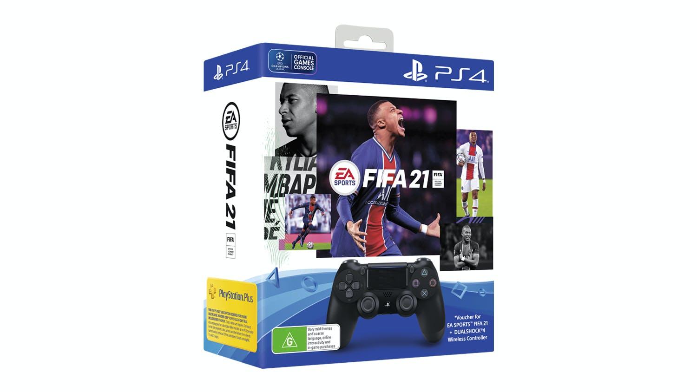 PS4 DUALSHOCK 4 Controller + FIFA21 Bundle (G) | Harvey ...
