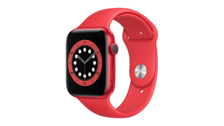 Apple Watch Series 6 (GPS) 44mm PRODUCT(RED) Aluminium Case with Red Sport Band