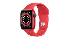 Apple Watch Series 6 (GPS+Cellular) 40mm (PRODUCT)RED Aluminium Case with Red Sport Band
