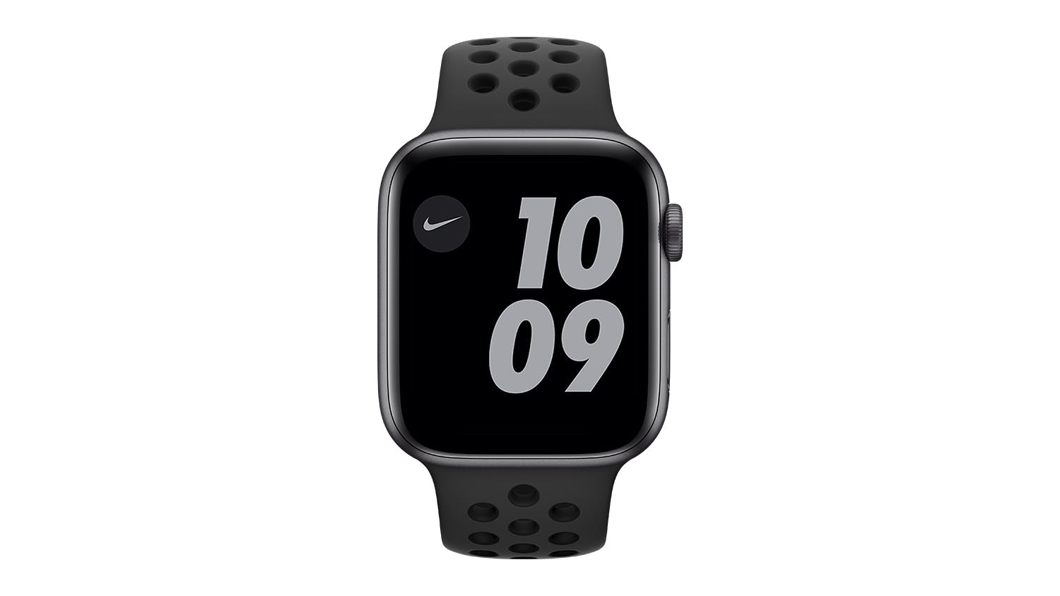 Apple Watch Nike Series 6 (GPS+Cellular) 44mm Space Grey Aluminium Case with Anthracite/Black Nike Sport Band