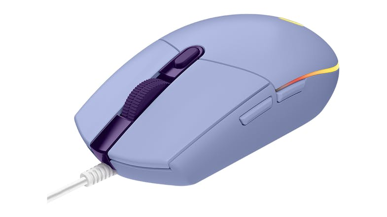 Logitech G203 LIGHTSYNC Gaming Mouse - Lilac
