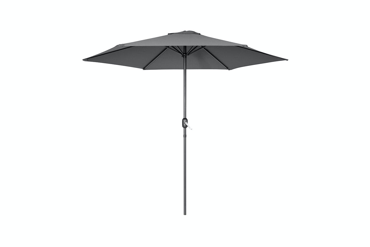 Detroit 2.7M Outdoor Umbrella by Peros - Charcoal