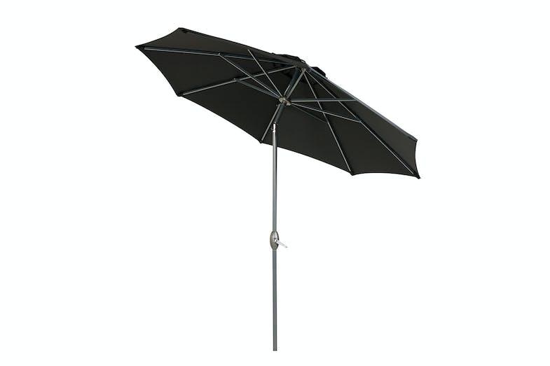 Florence Umbrella Black Angle