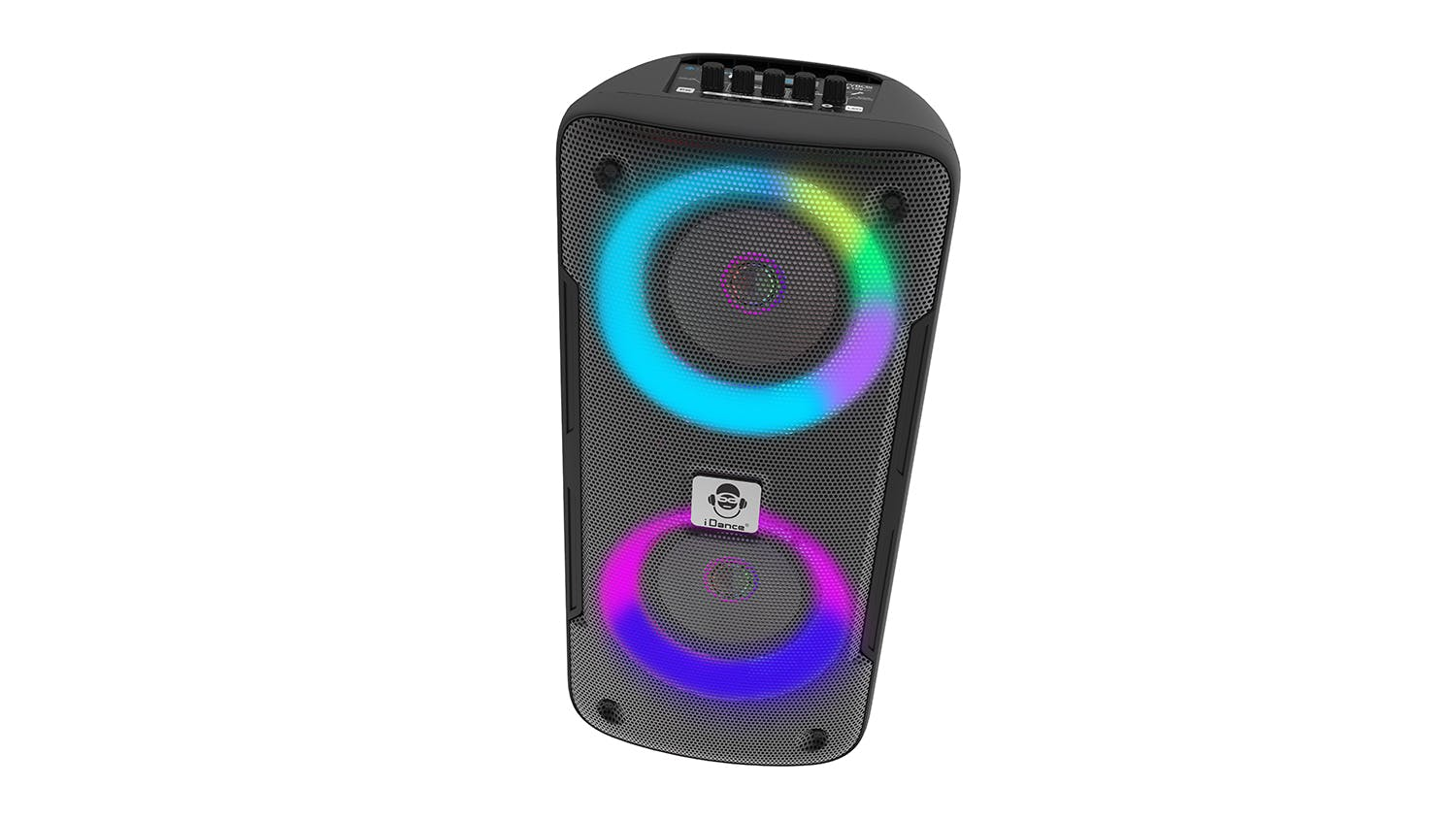 iDance GrooveX Portable Bluetooth Party Speaker with Mic