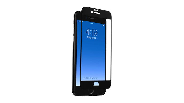 Zagg InvisibleShield Glass Curve for iPhone 7/8 - Black