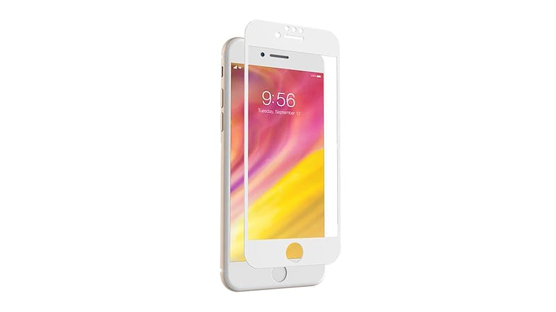 Zagg Invisibleshield Glass Curve for iPhone 7/8 Plus - White