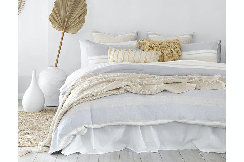 Silow Duvet Cover Set by Bambury