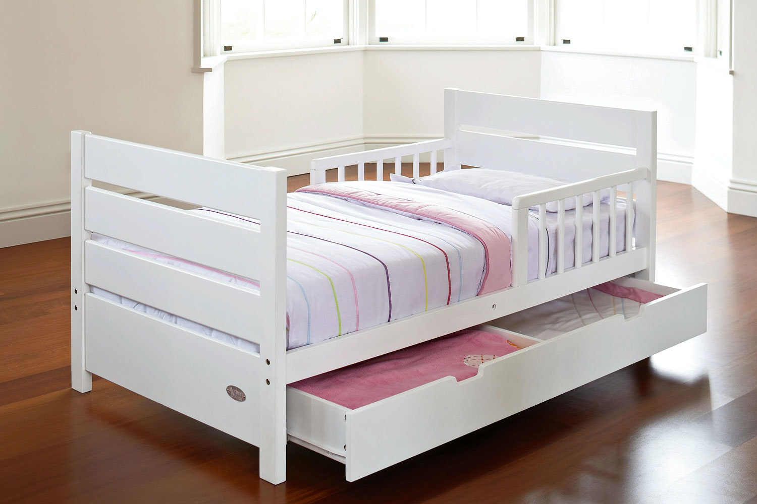 Toddler Bed With Drawers by Mothers Choice