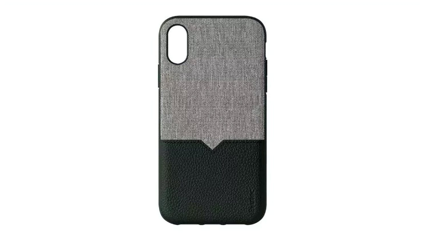 Evutec Northill Case for iPhone XR - Black/Canvas