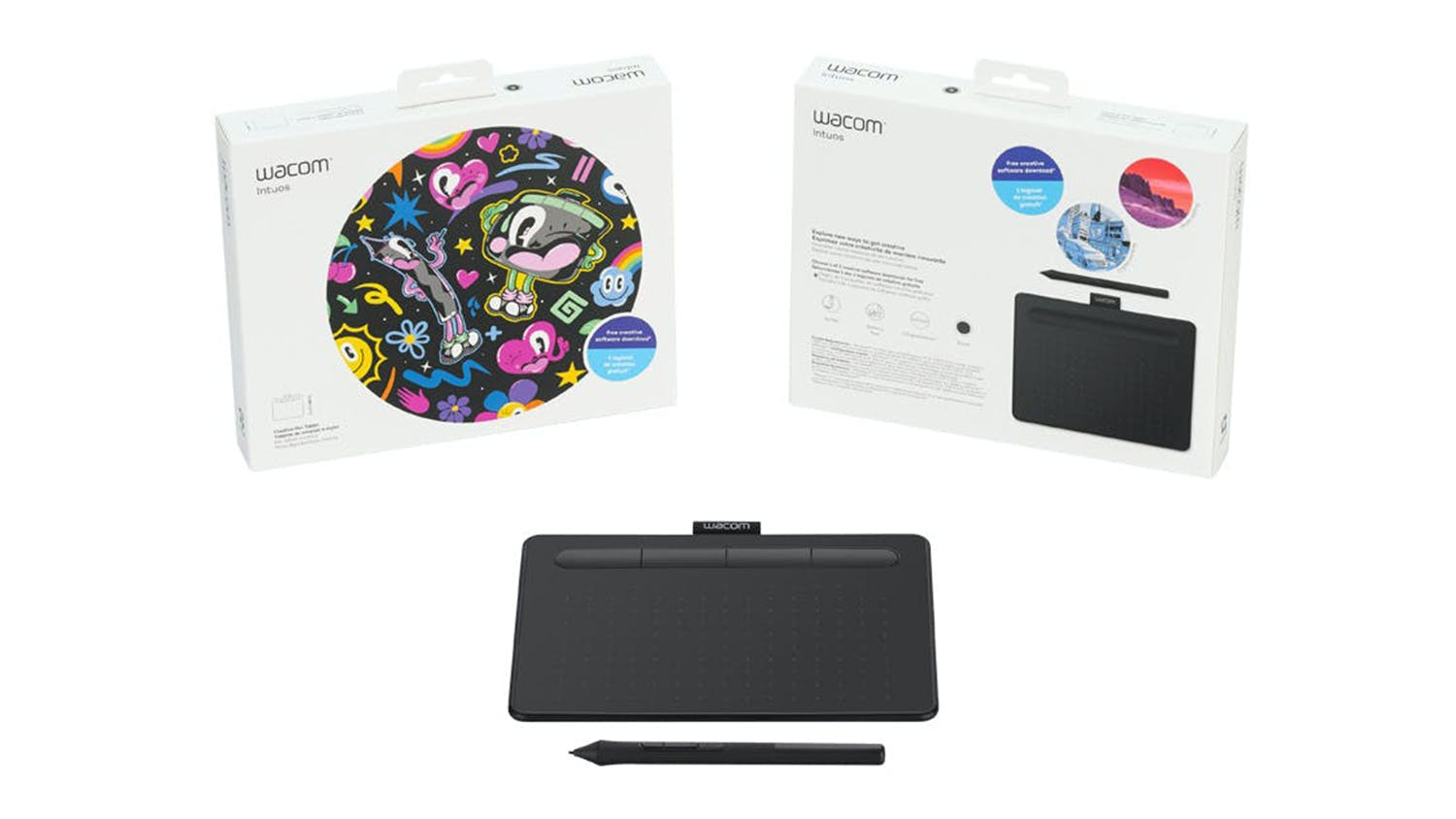 Wacom Intuos Creative Pen Tablet Without Bluetooth - Small