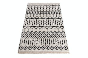 Bohemian Cream/Black Rug by Signature Rugs