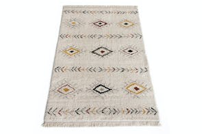 Bohemian Multi Coloured Rug by Signature Rugs