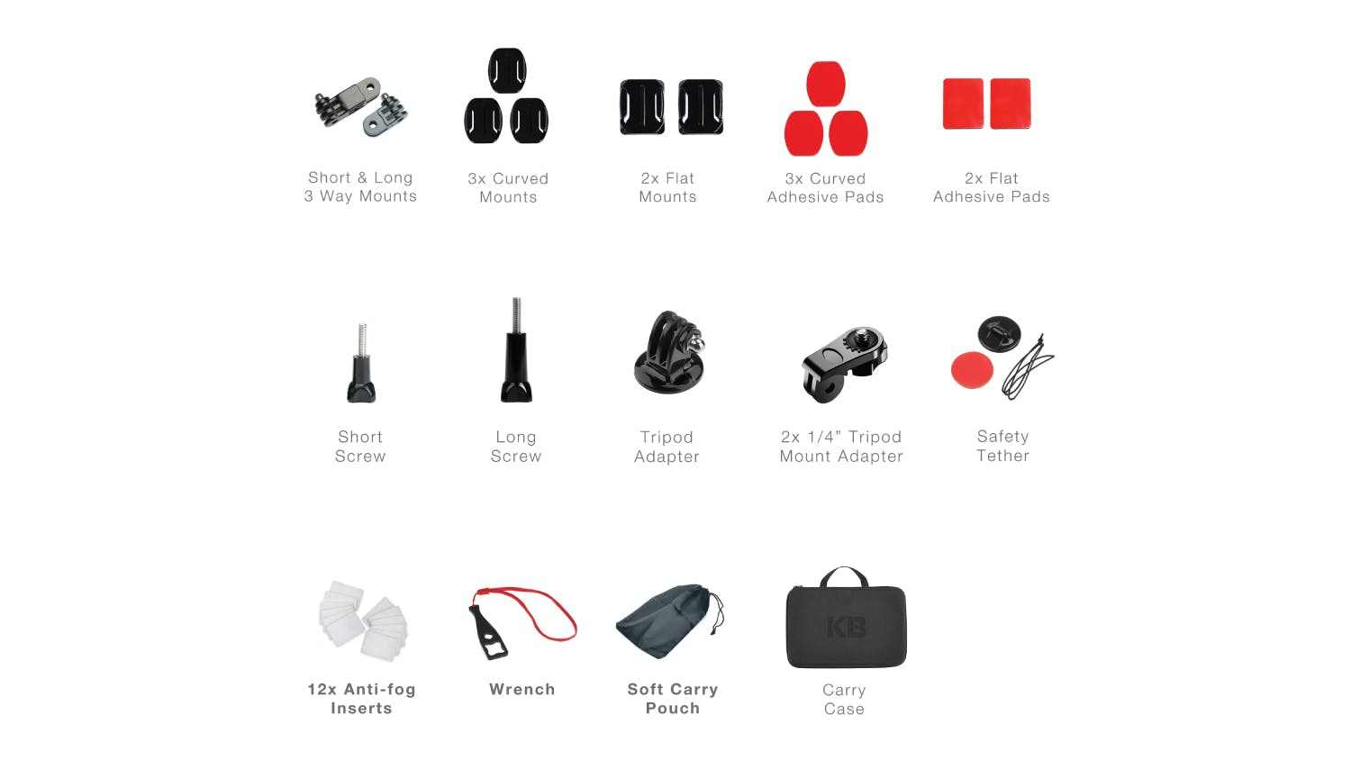 Kaiser Baas Camera Accessory Pack - 50 pcs