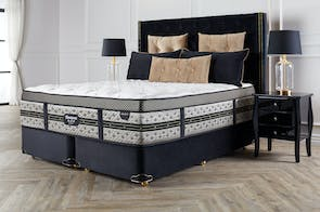 Majestic Medium Super King Bed by Beautyrest Black