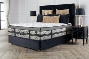 Majestic Medium Queen Bed by Beautyrest Black