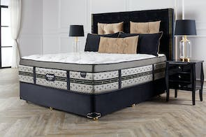 Majestic Soft Queen Bed by Beautyrest Black