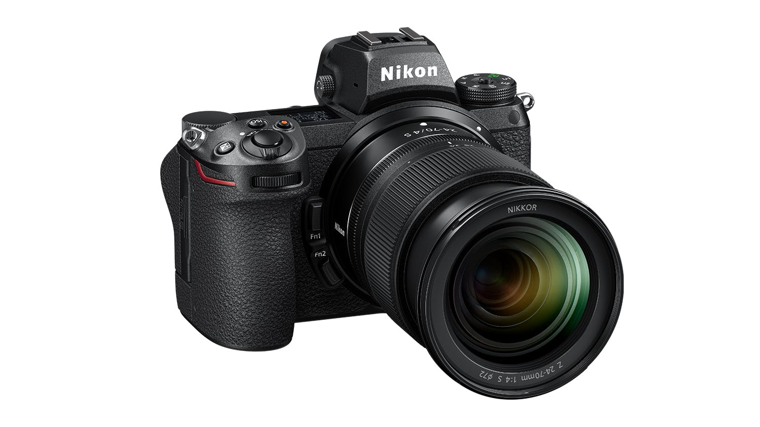Nikon Z 6II Mirrorless Camera with 24-70mm f/4 Lens