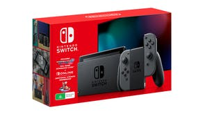 Nintendo Switch Console Grey with Mario Kart 8 Deluxe & 3 Month Switch Online
