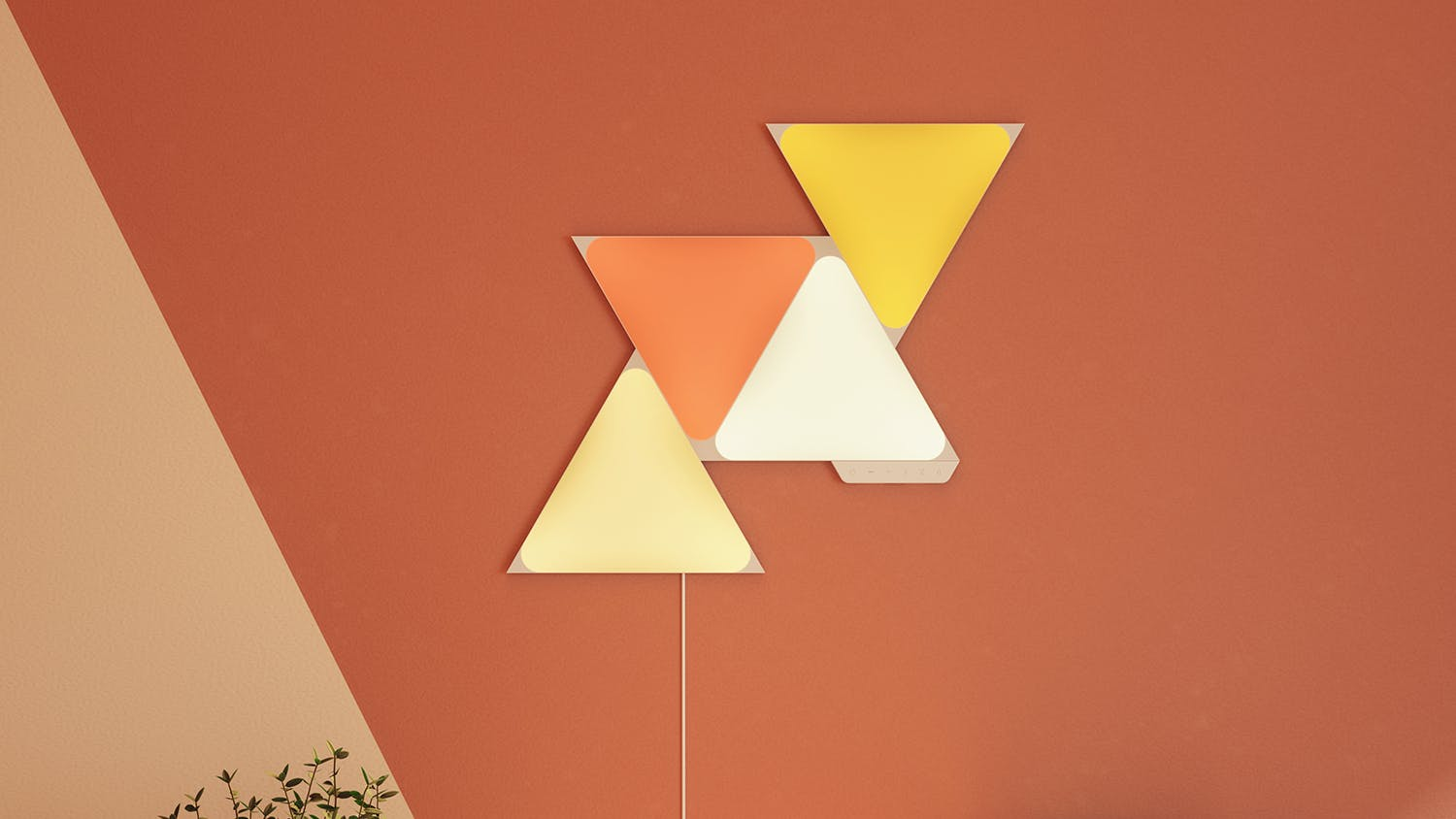 Nanoleaf Shapes Triangles Starter Kit - 9 Pack