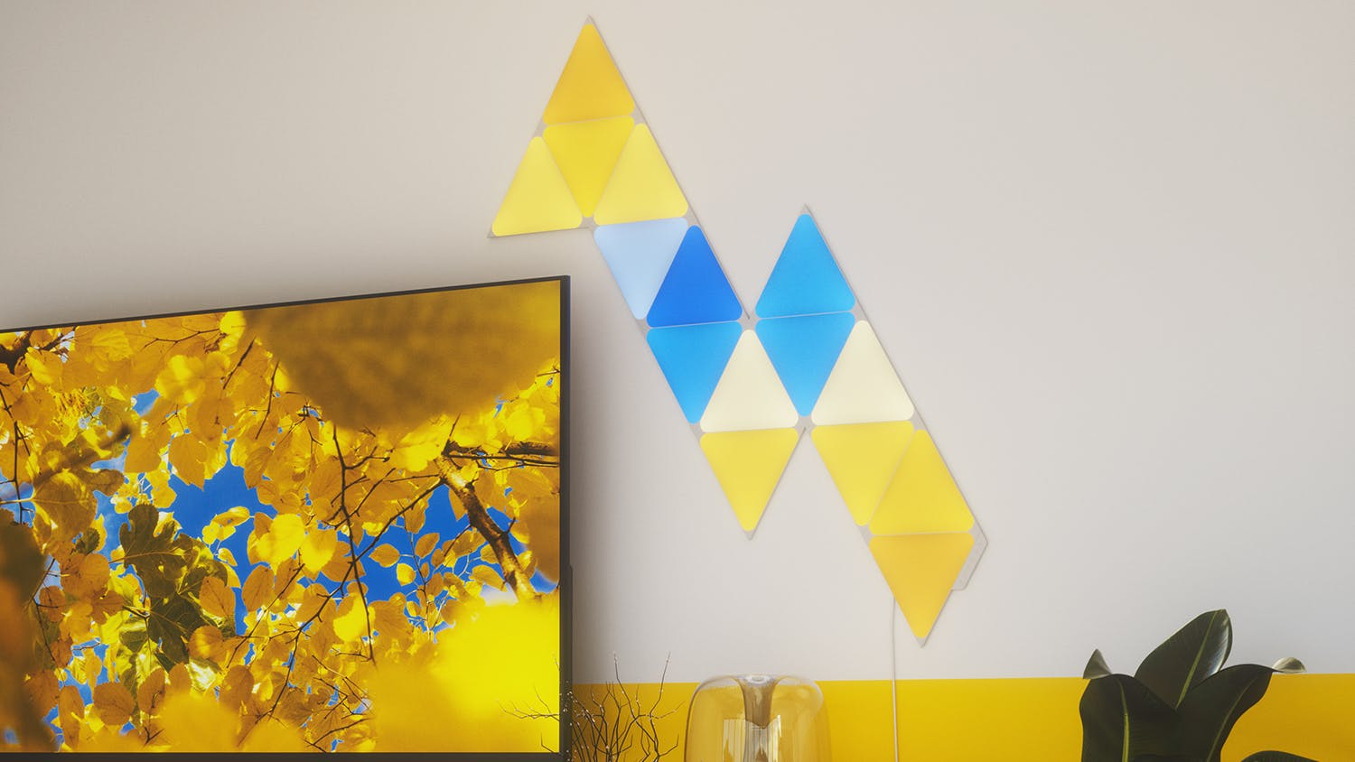 Nanoleaf Shapes Triangles Starter Kit - 4 Pack