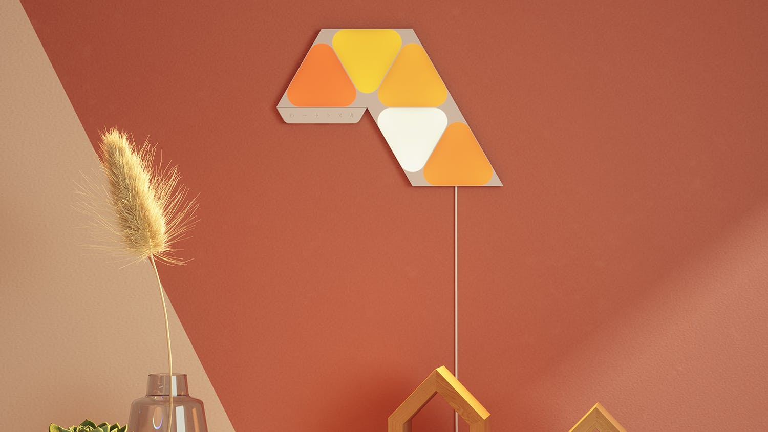 Nanoleaf Shapes Triangles Mini Starter Kit - 5 Pack