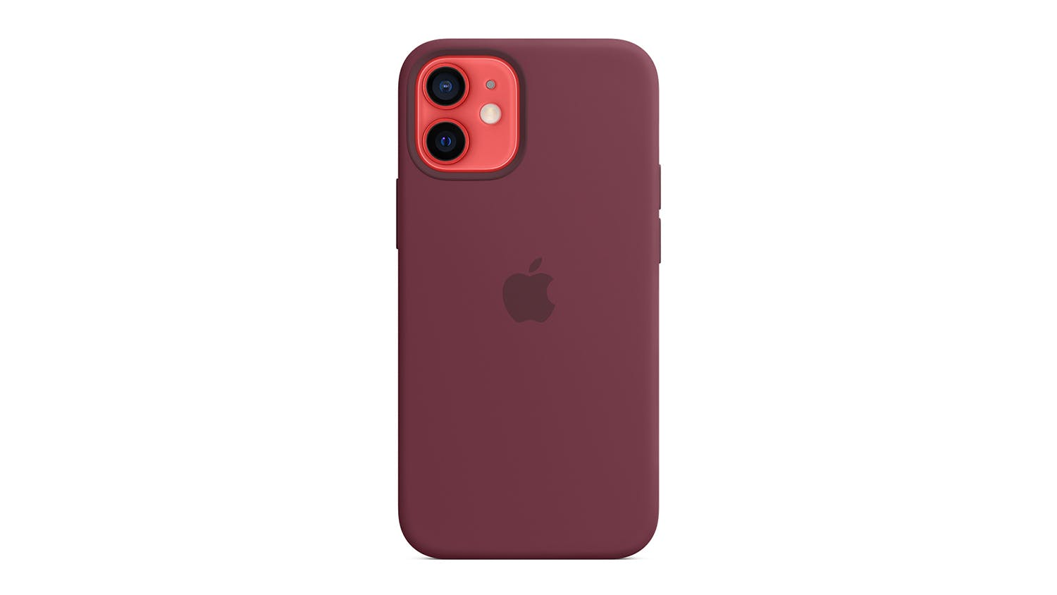 Apple Silicone Case with MagSafe for iPhone 12 mini - Plum