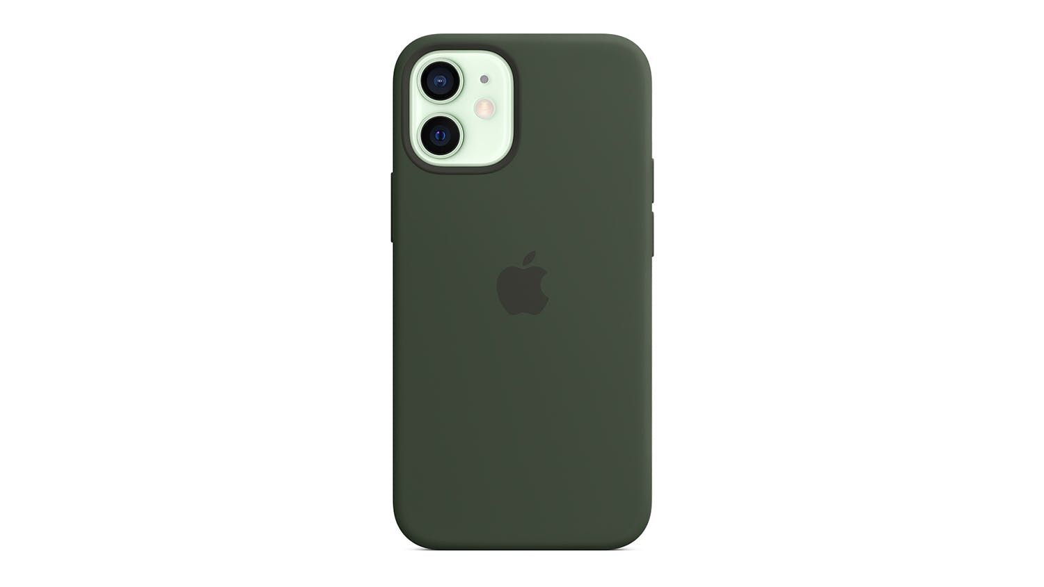 Apple Silicone Case with MagSafe for iPhone 12 mini - Cypress Green