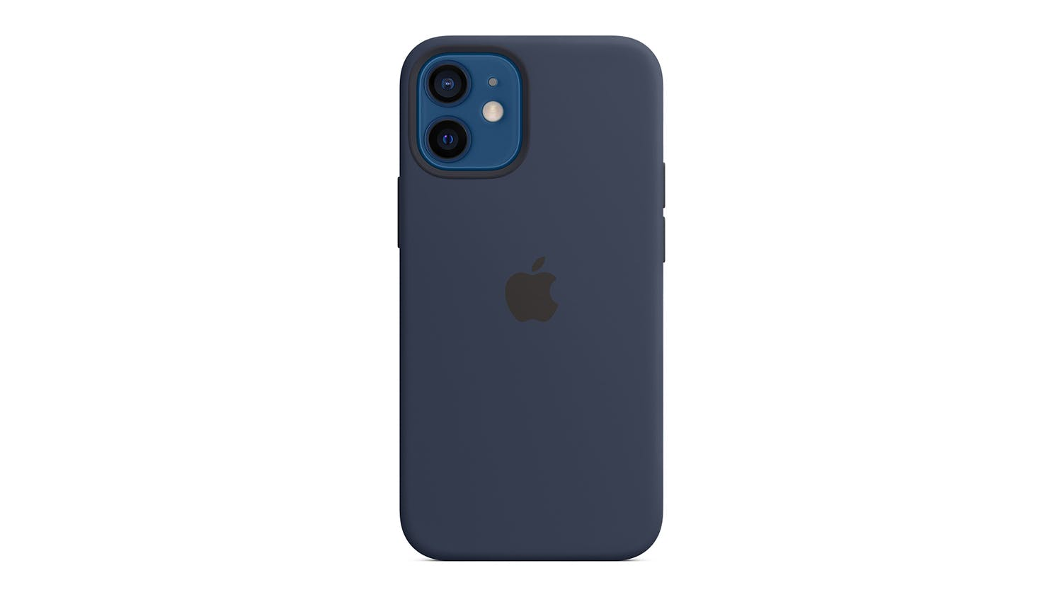 Apple Silicone Case with MagSafe for iPhone 12 mini - Deep Navy