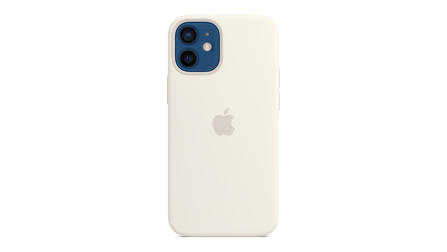Apple Silicone Case with MagSafe for iPhone 12 mini - White