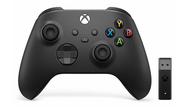 Xbox Wireless Controller + Wireless Adapter for Windows 10