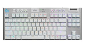 Logitech G915 TKL LIGHTSPEED Wireless RGB Mechanical Gaming Keyboard - White Tactile