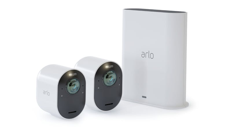Arlo Ultra 2 Spotlight 4K UHD Wire-Free Security System - 2 Pack