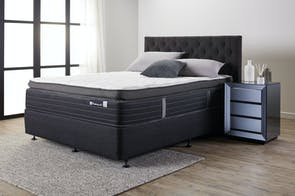 Parkhurst Medium King Single Bed by Sealy Posturepedic
