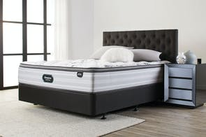 Revere Medium Queen Bed by Beautyrest