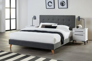 Tyler Queen Bed Frame by Dixie Cummings