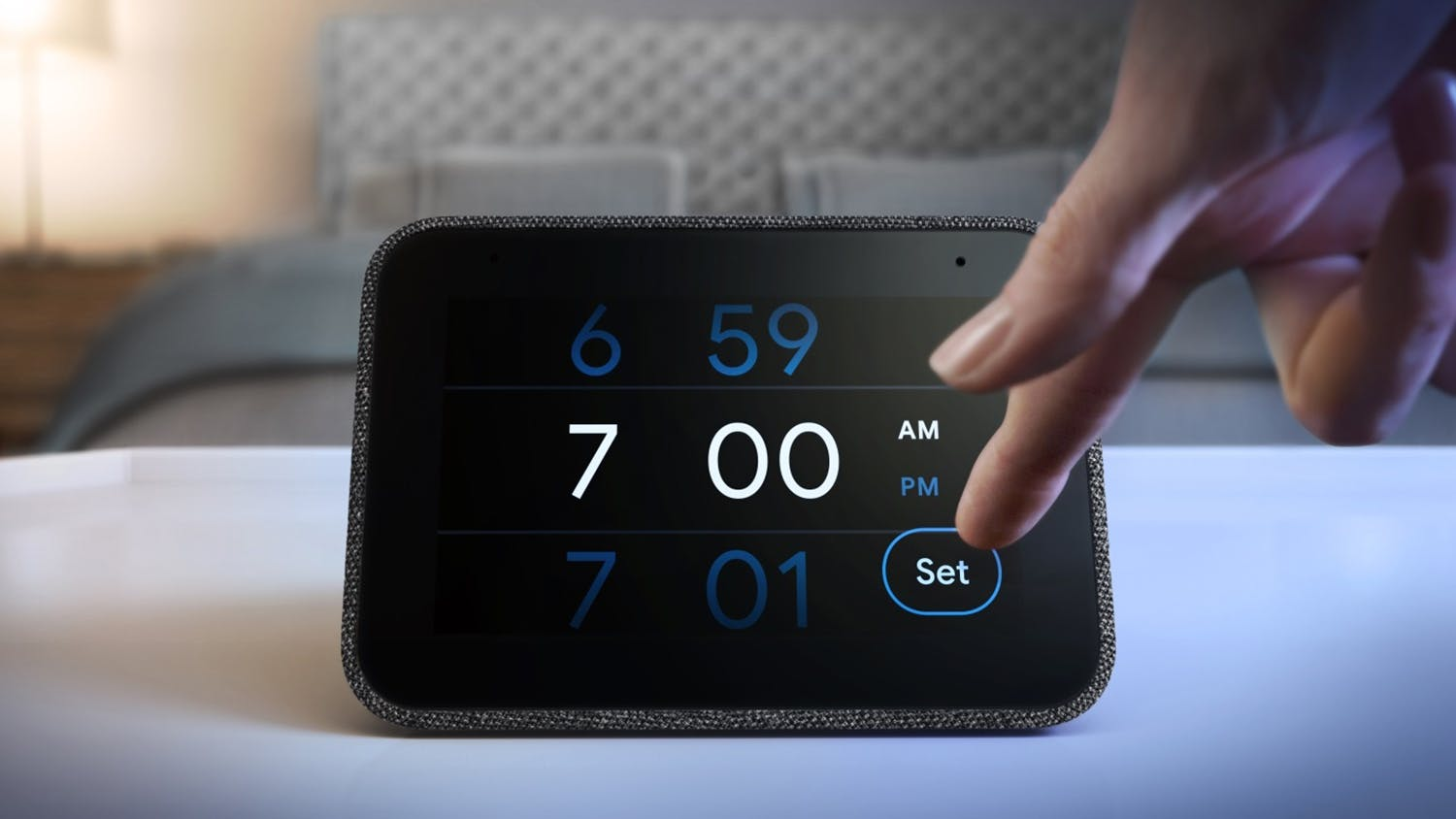 Lenovo Smart Clock with Google Assistant - Black